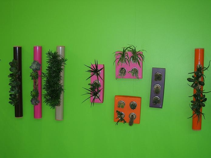 壁をおしゃれに観葉植物を飾って有効活用!壁掛けプランター・鉢・ガーデニングポットの使い方001