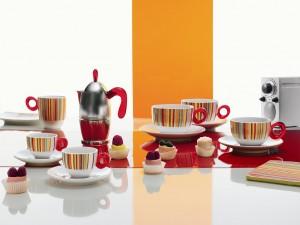 guzzini ART & CAFÉ エスプレッソメーカー3カップ レッド