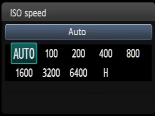 Valori ISO Canon