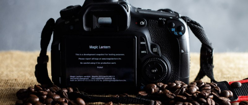 Magic Lantern | modding per Canon