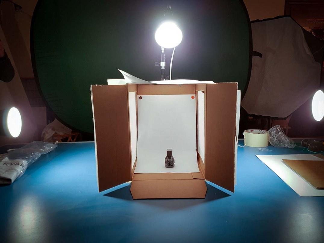 Photocafè.it - Lightbox fai da te: il set