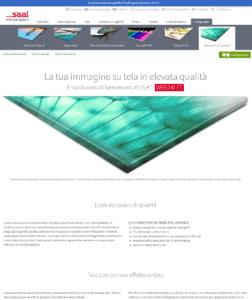 Screenshot sito Saal-Digital