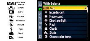 Bilanciamento del bianco