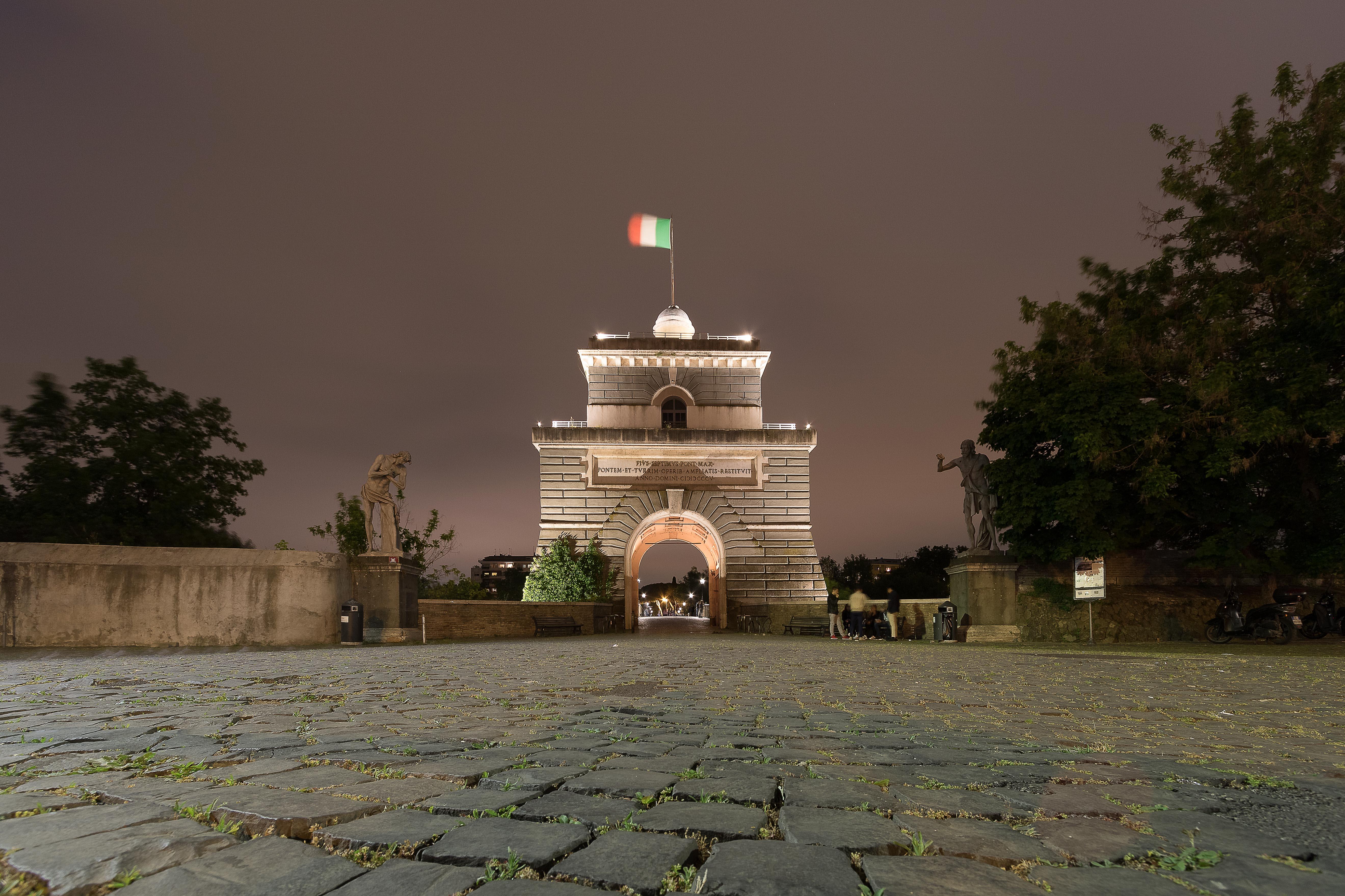Panorama Roma Ponte Milvio