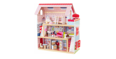 KidKraft-Chelsea Casa madera con muebles