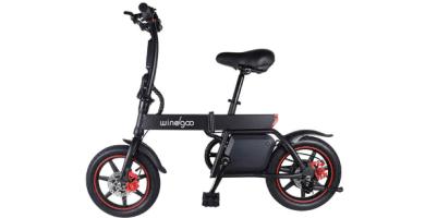 Windgoo Bicicleta Eléctrica Plegable ciudad