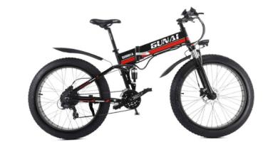 GUNAI Bicicleta eléctrica de montaña
