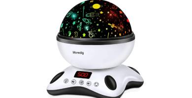 Moredig Lámpara Proyector Estrellas
