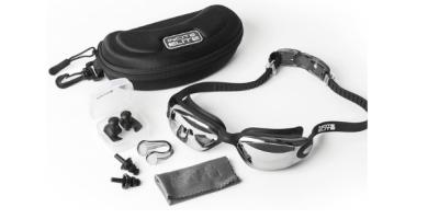 Gafas de natación con estuche protector GRATIS, clip nasal, tapones para los oídos