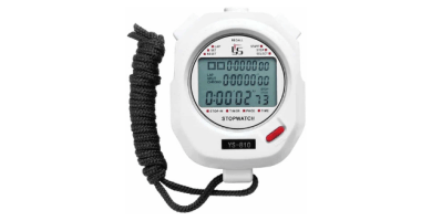Broadroot Portátil Cronómetro Digital Cronógrafo Temporizador