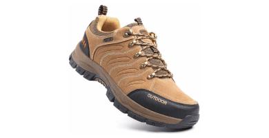 Zapatillas Trekking Hombre Antideslizantes Zapatos de Senderismo Transpirable Botas Montaña