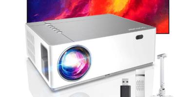 Bomaker Full HD 1080P Nativo Proyector con 7200 Brillo