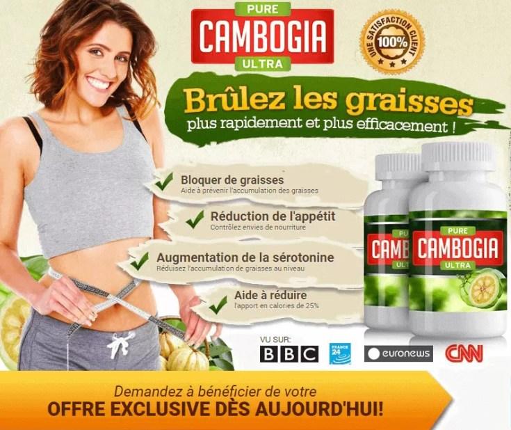 Cliquez ICI pour Pure Cambogia Ultra