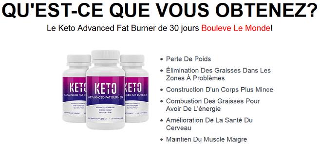 Keto Advanced Fat Burner - Revue