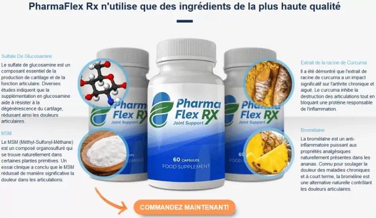 PharmaFlex RX – ta solution pour la réduction de la douleur articulaire