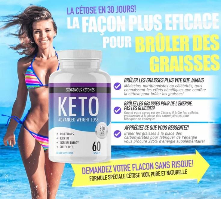 Pourquoi utiliser Keto Advanced Weight Loss avec un régime cétogène ?