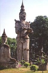 Vientiane Buddha-Garten