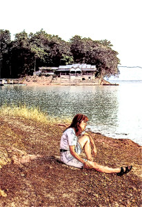 Nam-Ngum-Stausee