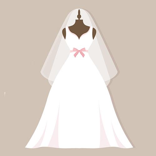 Sonar con vestido de novia puesto que significa