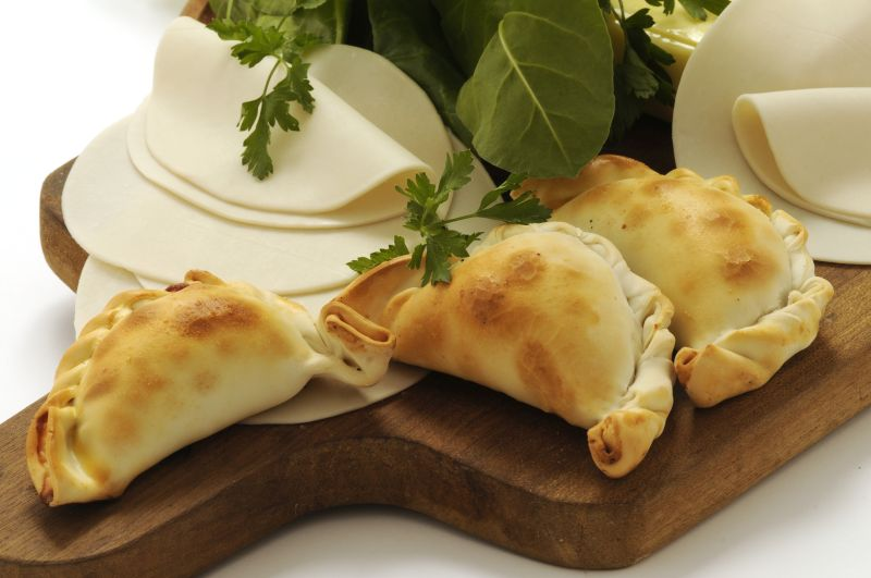 Empanadas sdamerikanische  Spezialittennet  Delikatessen  Feinkost der Welt