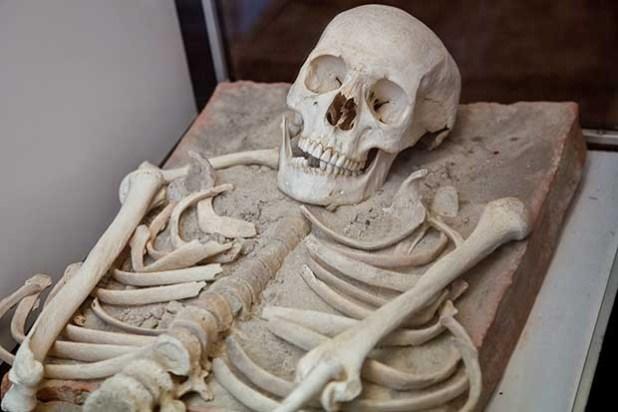 Soñar con un esqueleto