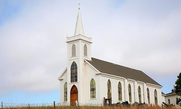Soñar con una iglesia