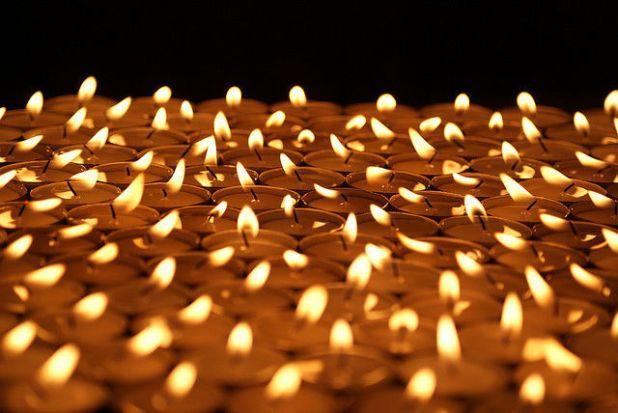 Interpretación del sonido de una vela