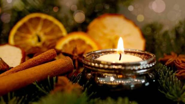 Vela de canela para rituales de amor