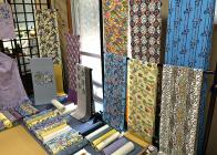 現代作家 琉球染織展 同時開催
