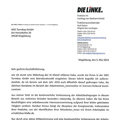 Enercon-Schreiben_LINKE_Betriebsratswahl