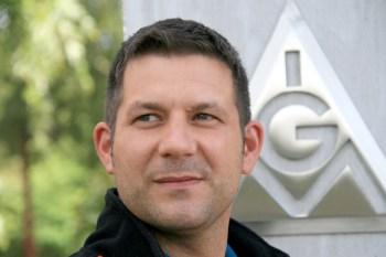 Dirk Ernst (Mitglied des Betriebsrats bei WEC Turmbau Emden)