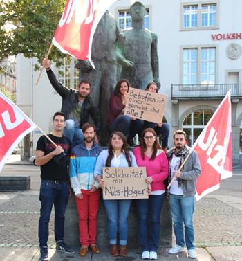 Solidarität aus Zürich