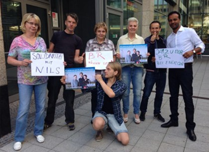 Solidarität aus Magdeburg