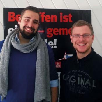v.l.n.r. Jochen Weitzel und Andreas Ulm