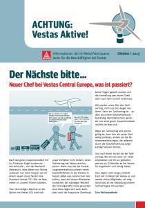Vestas Infoblatt Oktober 2015
