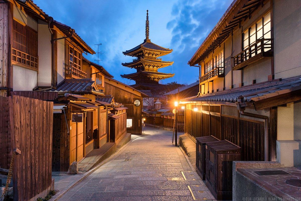 修学旅行の英語スピーチ、京都で外国人に話しかけよう!
