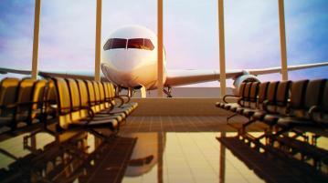 Airplane airport c5546