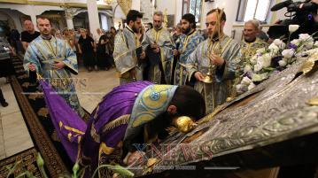 Хасковлии посрещнаха чудотворната икона