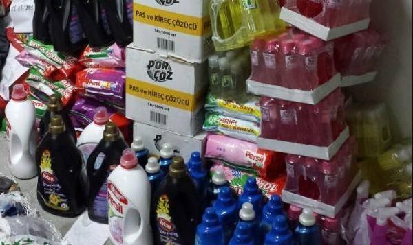 Жена крие нелегални перилни препарати в два гаража