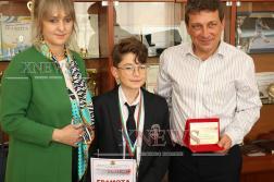 Осмокласник стана национален победител в състезание по английски език