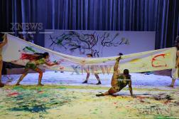 """""""Рона"""" съчетаха танца и изобразителното изкуство в """"Цветовете на танца"""""""