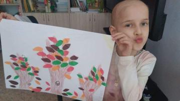 Стартира дарителска кампания за 7-годишната Михаела