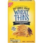 cracked pepper wheat thins