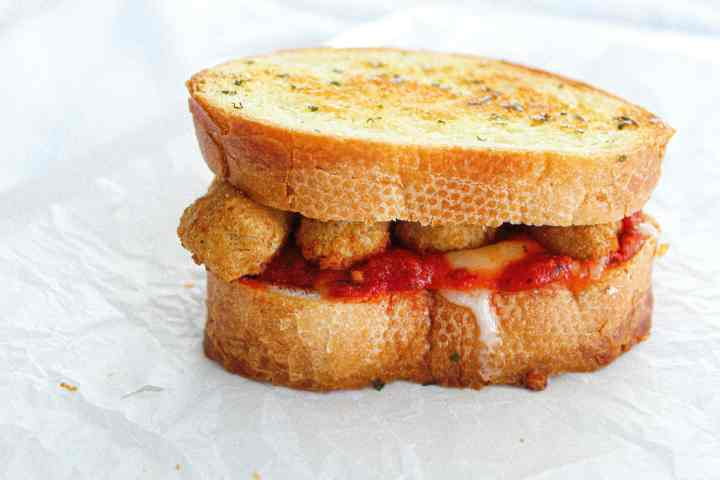 the most perfect grilled cheese sandwich recipe with mozzarella sticks
