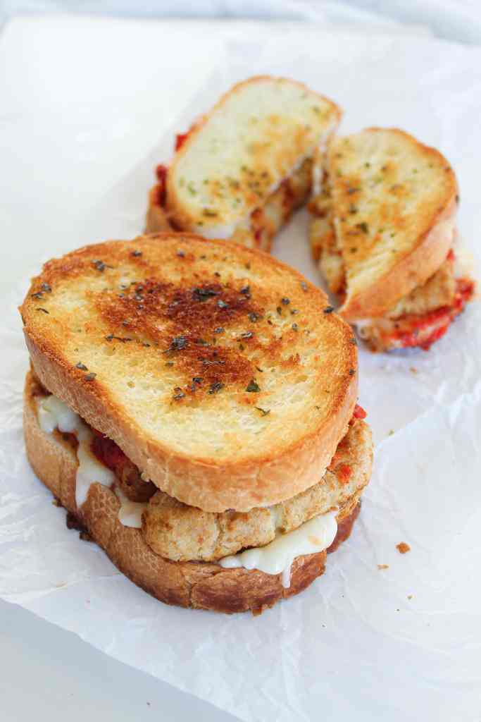 Healthy holiday eating: grilled cheese with mozzarella sti ... |Grilled Cheese With Mozzarella Sticks