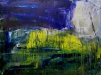 Nightscene (Acrylic on canvas 110×82 cm)