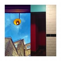 Exterior-interior composition (Digital Art, 29x29 cm)