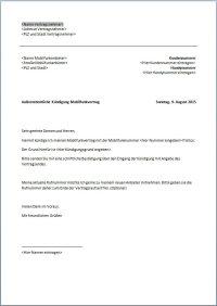 Kndigung Handyvertrag | Vorlage | Text | Word | PDF