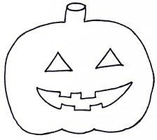 Halloween Kuerbis Vorlage zum Ausschneiden   Xobbu