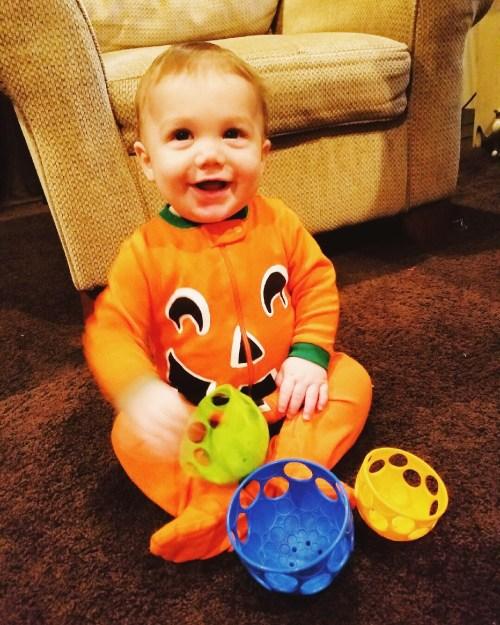 landon pumpkin halloween